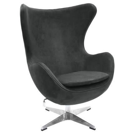 Кресло Bradex Home EGG CHAIR графит, искусственная замша /FR 0642