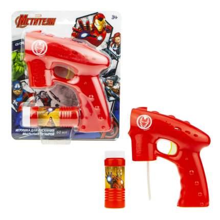 Пистолет 1TOY с мыльными пузырями Железный человек
