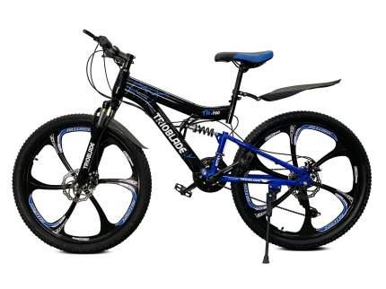 """Горный велосипед """"Trioblade TR-760"""" (чёрный/синий)"""