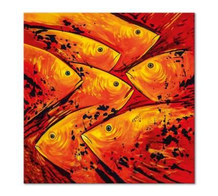 """Картина интерьерная на холсте Poly Print Art """"Совещание"""" 60х60 см."""