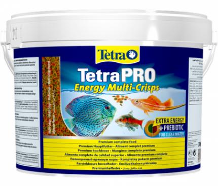 Корм для рыб Tetra Pro Energy Crisps, дополнительная энергия, чипсы, 10 л