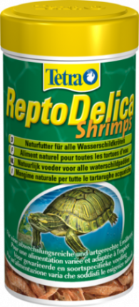 Корм для рептилий Repto Delica, креветки, 1шт, 0,05кг
