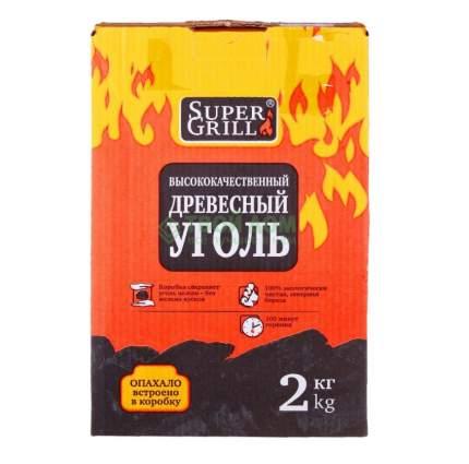 Уголь древесный SuperGrill ДРОВ_2005 2 кг