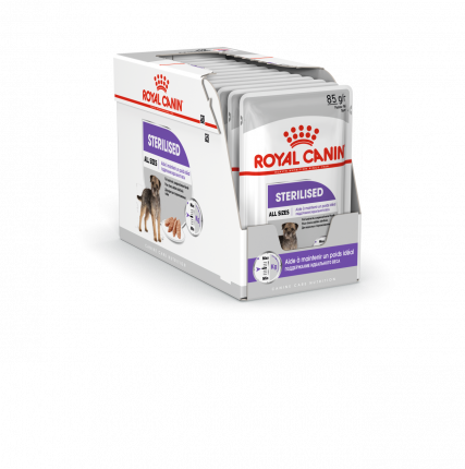 Влажный корм для собак ROYAL CANIN Sterilized, для стерилизованных, 12шт по 85г
