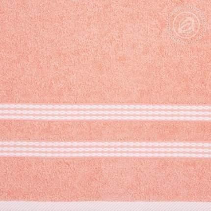 """Полотенце махровое """"Классик"""" (Розово-персиковое) 70х140 АРТ ДИЗАЙН"""