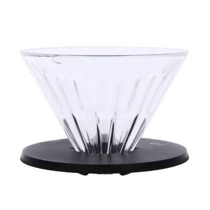 Воронка пуровер для приготовления кофе Timemore Crystal Eye. Размер 01, стекло