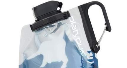 Фляга Platypus Duolock Bottle 1 л голубая