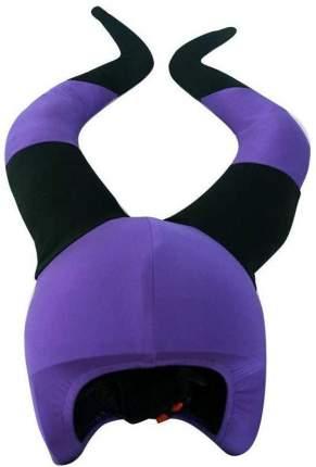 Нашлемник Coolcasc Witch 27 x 27 см black/purple
