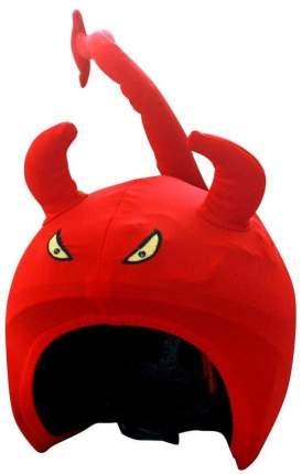 Нашлемник Coolcasc Devil 27 x 27 см red