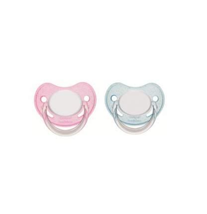 Пустышка анатомическая латексная Canpol babies 0-6 Basic