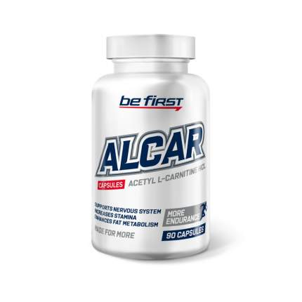 Be First ALCAR (Acetyl L-carnitine), 90 капсул