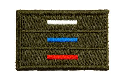 """Патч TeamZlo """"Флаг Триколор тактический 4*6"""" (TZ0103)"""