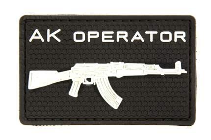 """Патчи TeamZlo """"АК operator пвх"""" BK (TZ0047BK)"""