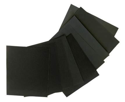 Набор водостойкой наждачной бумаги HANDSIZE FULL SET-1 ( размер 140х115мм), 9шт