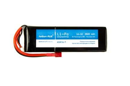 Аккумулятор Li-Po 11,1V 3600 mAh (ASR16-T)