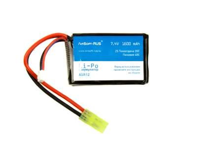 Аккумулятор Li-Po 7,4V 1600 mAh (ASR12)