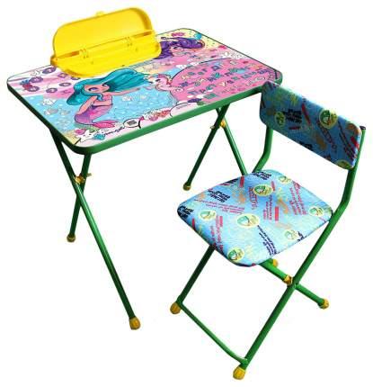 Комплект детской мебели Galaxy Русалочки зеленый
