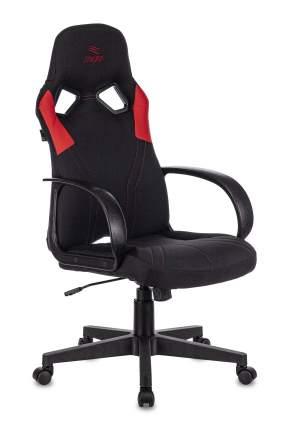 Кресло игровое ZOMBIE ZOMBIE RUNNER черный/красный