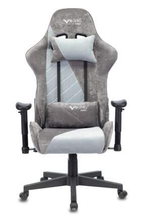 Кресло игровое ZOMBIE VIKING X серый/серо-голубой