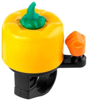 Звонок на руль RT желтый