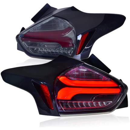 Задние фонари Форд Фокус 3 хэтчбек 2015-2019 модель №1,  MF-TL-000514