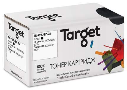 Картридж для лазерного принтера Target TR-92A/EP-22, черный, совместимый