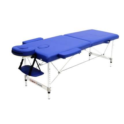 Массажный стол складной MET Comfort blue