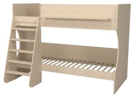 Двухъярусная кровать Капризун Р438 дуб молочный