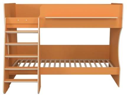 Двухъярусная кровать Капризун Р438 оранжевая