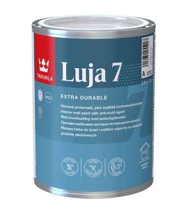 Краска акрилатная Tikkurila Luja 7 с противоплесневым компонентом база А 0,9 л