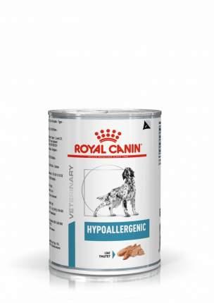 Консервы для собак ROYAL CANIN Dermatology Hypoallergenic, мясо, 400г
