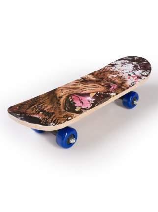 Скейтборд SXRIDE JST43 Lion PVC, 43х13х8,5 см JST43PVC02