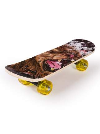 Скейтборд SXRIDE JST43 Lion PU, 43х13х8,5 см JST43PU02