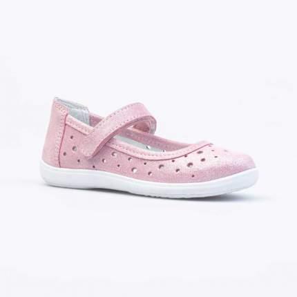 Туфли для девочек Котофей цв.розовый р.32