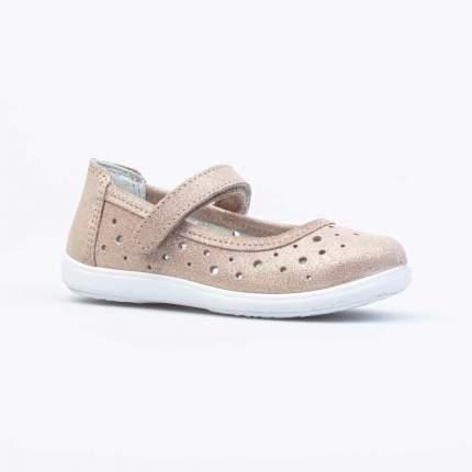 Туфли для девочек Котофей цв.золотистый р.32