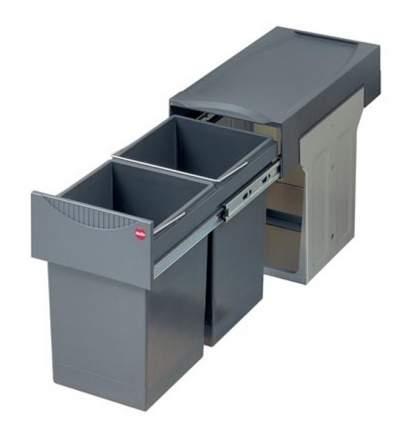 Выдвижная мусорная система Hailo Tandem 3666-10