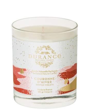 Ароматическая свеча Durance Perfumed Natural Candle Winter Wreath 180г (зимний венок)