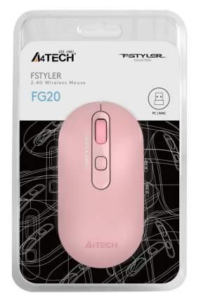 Мышь A4Tech Fstyler FG20 Pink