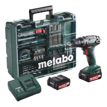 Аккумуляторная дрель-шуруповерт Metabo BS 14.4 602206880