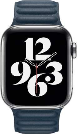 Ремешок Apple для смарт-часов Apple Watch 44mm Baltic Blue Leather Link Large (MY9L2ZM/A)