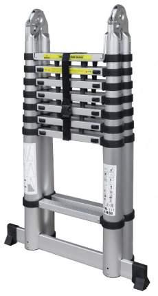 Лестница телескопическая алюминиевая UPU Ladder UPT708 5,0 м