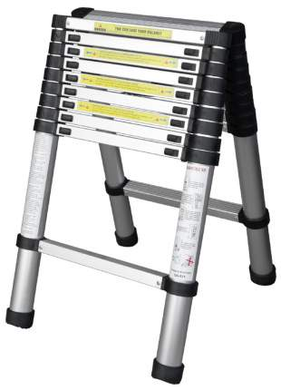 Лестница телескопическая алюминиевая UPU Ladder UPT509 2,9 м