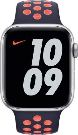Ремешок Apple для смарт-часов Apple Watch 44mm Blue Black/Bright Mango Nike SB (MG3X3ZM/A)