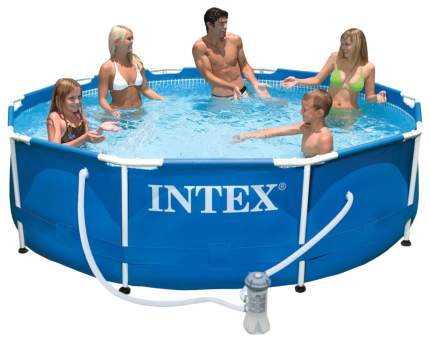 Каркасный бассейн Intex Metal Frame 56999 305x305x76 см