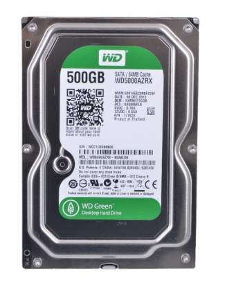 Внутренний HDD диск WD 500Gb WD5000AZRX