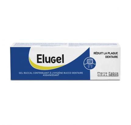Элюгель гель зубной 40 мл 1 шт. туба