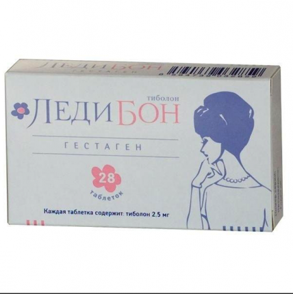 Ледибон таблетки 2,5 мг 28 шт.