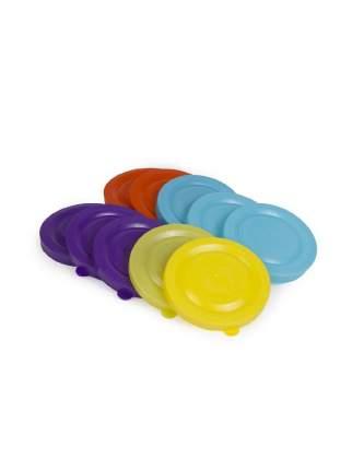 Набор крышек для банок Архимед 10 шт  цветные в ассорт