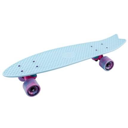 """Скейтборд круизер-рыбка Tech Team Fishboard 23"""" (небесно-голубой)"""