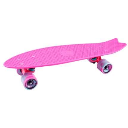 "Скейтборд круизер-рыбка Tech Team Fishboard 23"" (розовый)"